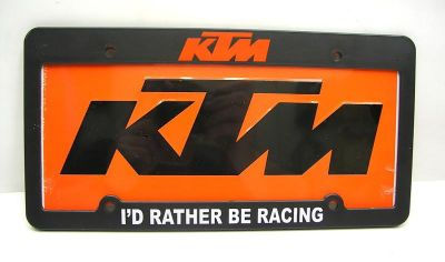 Sell KTM450 Orange License Plate and Frame KTM 500 300 450 Truck Van Trailer MX GNCC motorcycle in Duncansville, Pennsylvania, US, for US $18.99