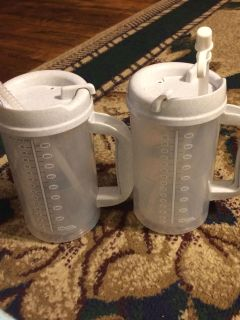 2 new 32 oz cups selling as a pair