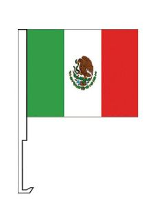 Sell Mexico Car Window Roll Up Flag w/Pole JX motorcycle in Castle Rock, Washington, US, for US $7.95