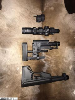 For Sale: Leupold patrol and other parts