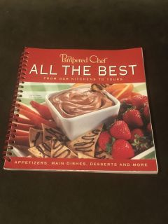 The Pampered Chef All The Best From Our Kitchen To Yours Cookbook