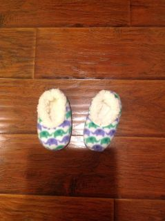 Purple and green elephant Snoozies size large toddler