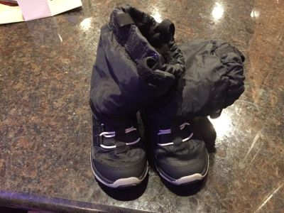 Stride rite toddler boys winter boots size 9
