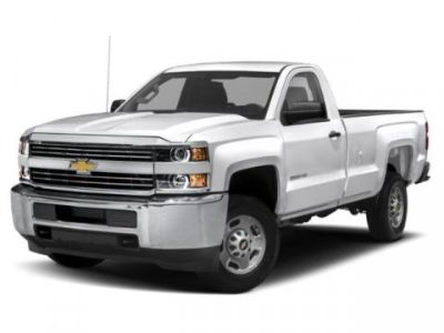 2019 Chevrolet Silverado 2500HD Work Truck (Silver Ice Metallic)