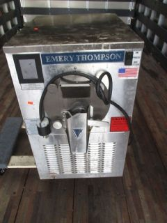 2015 Emery Thompson CB-350 Batch Freezer 6qt RTR#7121168-01