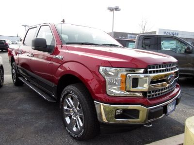 2019 Ford F-150 XL (Ruby Red Metallic Tinted Clearcoat)