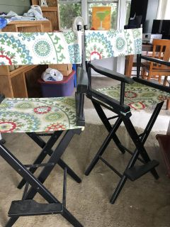 Directors chairs -pier one-
