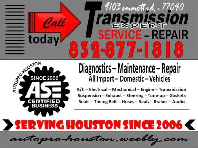 Transmission Experts at AutoPRO-Houston