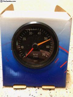 """VDO 3-1/8"""" Tachometer 12V **New In Box**"""