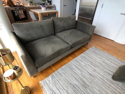 Room & Board Jasper Sofa w/custom fabric