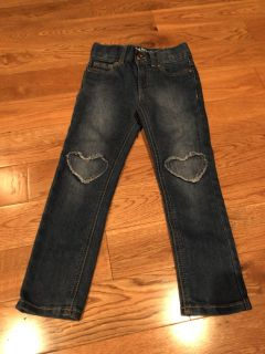Never used cat & jack jeans 4T