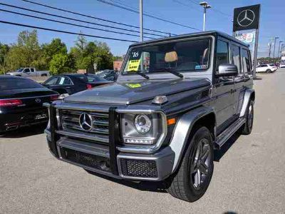 Used 2016 Mercedes-Benz G-Class 4MATIC 4dr