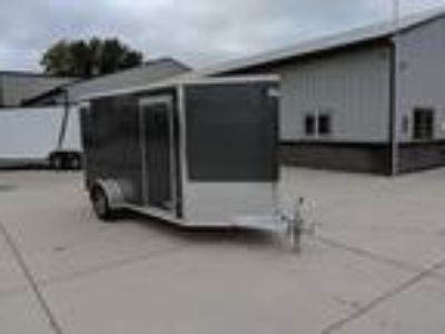 2019 Mission Trailers MEC 6'x12' Aluminum Enclosed Trailer