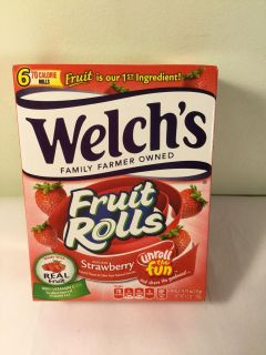 Welches strawberry fruit roll ups