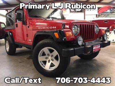 2006 Jeep Wrangler Unlimited Rubicon (Red)