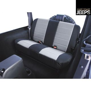 Sell 13280.09 RUGGED RIDGE Fabric Rear Seat Covers, 80-95 Jeep CJ/Wranglers, by motorcycle in Smyrna, Georgia, US, for US $79.77