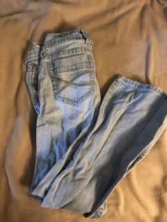 Aeropostale jeans - Hailey; skinny; flare - size 1/2 short - porch pick up