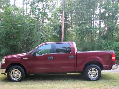 2005 Ford F-150 XLT (Maroon Or Burgundy)