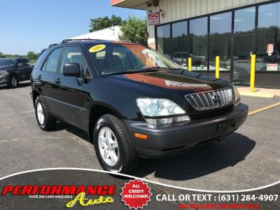 2002 Lexus RX 300 Base (Black Onyx)