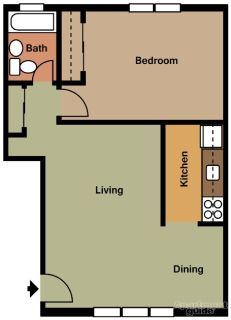 one bedroom Apt