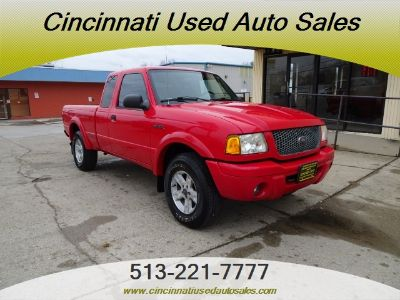 2002 Ford Ranger XLT (Bright Red Clearcoat)