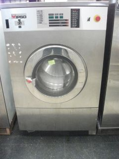 Coin Operated IPSO Front Load Washer 50 LB 3PH for OPL