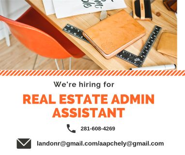 REAL ESTATE ADMIN ASSISTANT