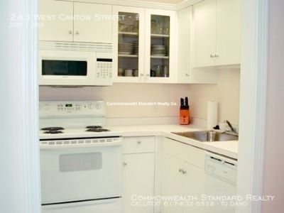 AVAILABLE 8/1!! - 2BED/2BATH IN SOUTH END BOSTON - UPDATED APPLIANCES