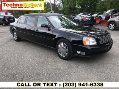 2002 Cadillac Deville Professional 4dr Sdn Limousine (black)
