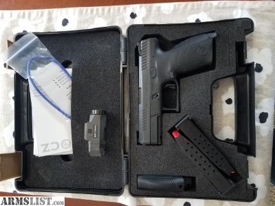 For Sale: CZ P-10C 9mm