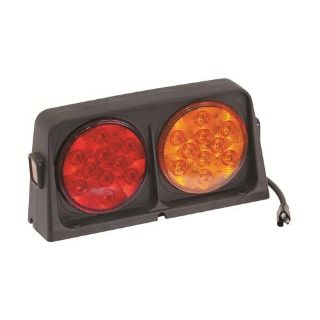 Find Wesbar 54209-020 Trailer Light - Dual - LED w/Blank Red Amber on Amber - 3-Way motorcycle in Naples, Florida, US, for US $84.47