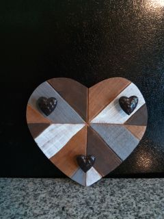 Wooden Heart Wall Decor