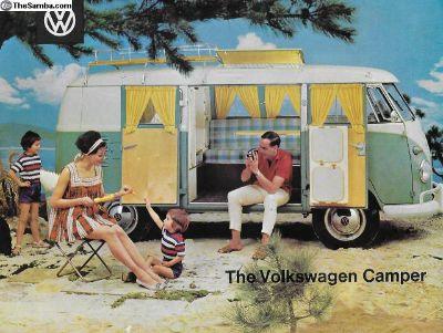1961 SO34 Westfalia VW Camper Sales Brochure