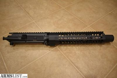 "For Sale: AR Pistol 10.5"" Complete Upper Sniper Grey"