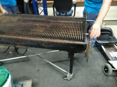 Grill co 6 ft propane gas grill