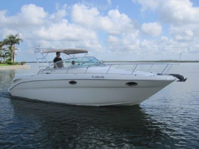 2003, 29' SEA RAY 290 AMBERJACK For Sale
