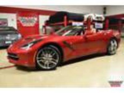 2015 Chevrolet Corvette Stingray Convertible W/Z51 Crystal Red Tintcoat Corvette
