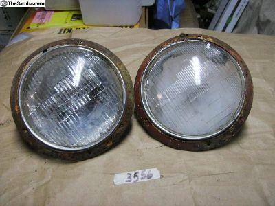 Low light Headlight Rings & Beam Holder