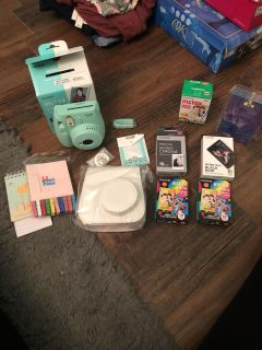 Fujifilm Instax mini 9 Polaroid camera. With awesome extras. All for listed price. Giftable