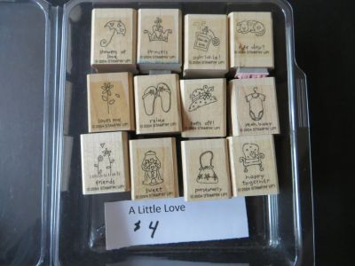 Stampin Up A Little Love stamp set