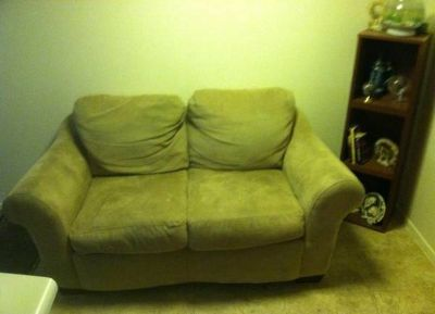 Love-seat for sale.