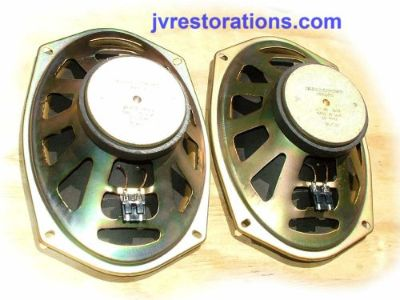 Purchase 1970 71 72 73 74 Camaro Chevelle Nova GTO Delco 10 Ohm 6x9 GM Speakers Refurbish motorcycle in Monrovia, California, United States, for US $84.50