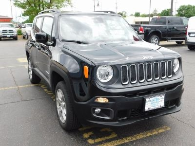 2018 Jeep Renegade latitude (black)