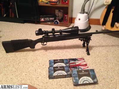 For Sale/Trade: Savage Axis 30-06 150 yd scope/bipod/ammo sleeve $100 in ammo