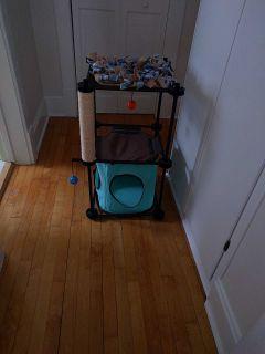 Cat bed/tree/toy