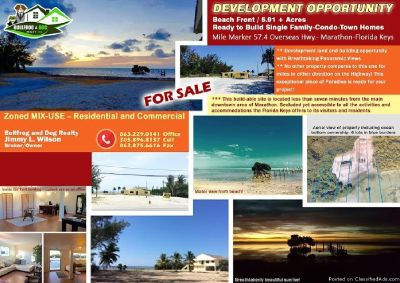 FOR SALE THIS BEACH FRONT LAND FOR SALE