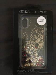 Kendall and Kylie iPhone X case