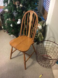 Old wooden chair from hausita