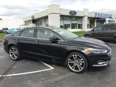 2017 Ford Fusion Titanium (Shadow Black)