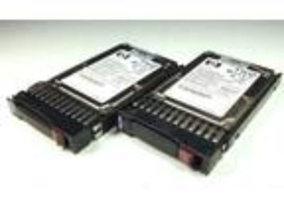 Lot of 2 HP 72GB 10K 2.5 SFF SAS HARD DRIVES HDD In/Tray